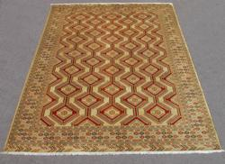 Finely Knotted Delicate Persian Turkmen 10x13
