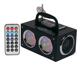 Mini Bluetooth Boom Box with Dancing Light Show