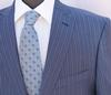 An Eye Catching Blue Color Italian Suit By Galante