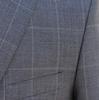 Handsome 2Button Style Plait Suit By Galante