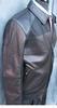 Fine Quality Black Leather Jacket By Emmanuelle Ungaro