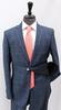 Stylish Navy Color Slim Fit Suit, By Galante