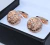 Handsome Pair Hand Finished Cufflinks By Carelli
