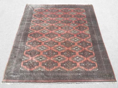 Marvelous Fine Quality Handmade Semi Antique Bokhara Rug