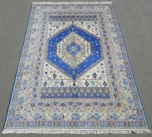 Lovely Fine Handmade Persian Tabriz Design 7x11