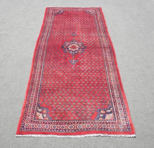 Spectacular Semi Antique Allover Persian Sarouk Mir 11ft