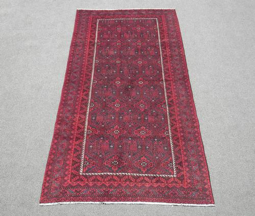 Stunning Handmade Semi Antique Allover Persian Turkmen 6x9
