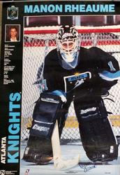 Signed Manon Rheaume Poster