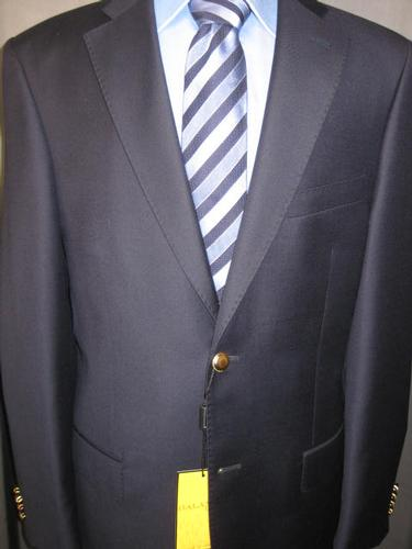 Super Fine Quality 2Button Style Navy Blazer By Galante