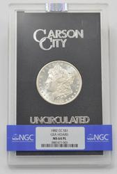 ProofLike GSA 1882-CC Morgan Silver Dollar NGC MS64PL