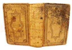 1869 Antique German Leather Bible