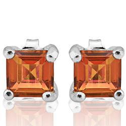 1ct Azotic Gemstone Stud Earrings