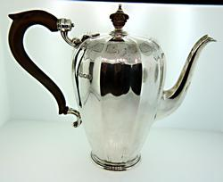 Stunning Art Deco Sterling Coffee Pot