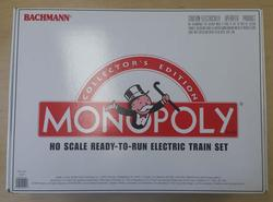 Bachmann Monopoly HO Electric Train Set
