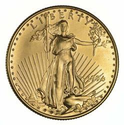 1994 $25 1/2 OZ. Fine Gold American Eagle