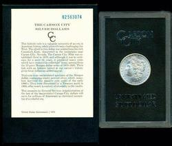 Nice BU 1882-CC Morgan Silver Dollar in GSA pack