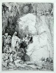 Vintage Rembrandt, The Raising of Lazarus