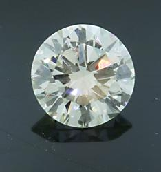 1.25 CT Loose Round Brilliant Cut Diamond