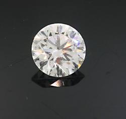 Loose Round Brilliant Cut Diamond at 0.65 CT