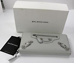Winter White Brand New Balenciago Wallet