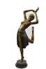 50 inches Hotcast Bronze Dancer Figure