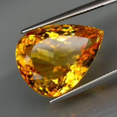 Blistering 22.88ct top golden VS Citrine