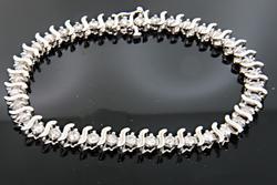 2.5 CTW Tennis Bracelet in 10K