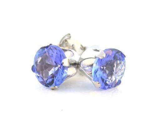 Stunning Tanzanite and 14kt Gold Earrings