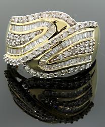 EYE CATCHING MULTI DIAMOND BAND