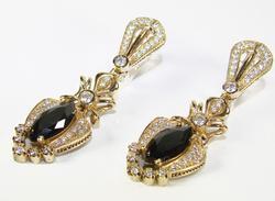Glamorous & Elegant Classic Design 925 Silver Earrings