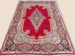 Exceptionally Majestic Large Handmade Authentic Royal Persian Rug