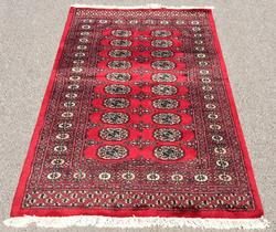 Super Fine Quality Hand Woven Lustrous Authentic Princess Bokhara Rug