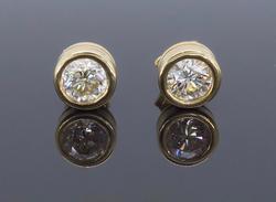 1.36CTW Diamond Studs