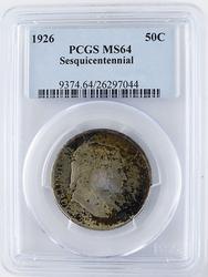 1926 PCGS MS 64 Sesquicentennial Half Dollar