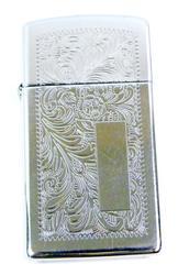 Ornately Engraved Vintage Zippo Lighter