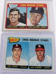 2 Topps 1965 Rookie Stars