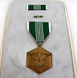 Military Merit Medal & Pins in Box