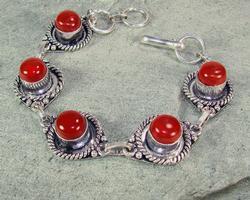 Attractive Ethnic Handmade Natural Stone Bracelet