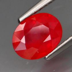 Dynamic 1.63ct Imperial Red Sapphire