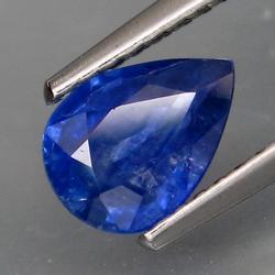 Vivid 1.21ct top blue Ceylon Sappire
