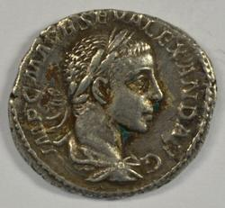 Nice Severus Alexander Roman Silver Denarius 222-235 AD