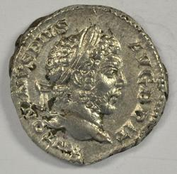 Nice Roman Silver Denarius of Caracalla, 198-217 AD