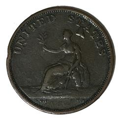 1783 Washington &Independence Small Bust Colonial Cent