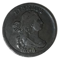 1804 Sharp Bust Half Cent C-13