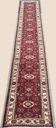 Enchanting Colors, Rare Size Lush Pile Meshg-Abad Design Long Runner