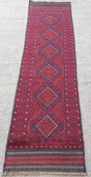 Rare & Unique Size Authentic HandmadePersian Qazi-Dokhtar Baluchi Runner