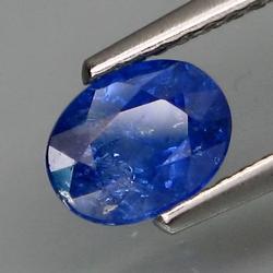 Top cornflower blue 1.14ct Ceylon Sapphire