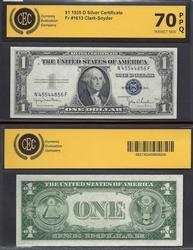 $1 1935-D Silver Cert, UNC