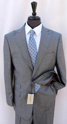 Stylish 2-Button Comfort Fit Suit With Peak Lapel