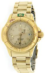 Ladies Gold Tone Tag Heuer Professional